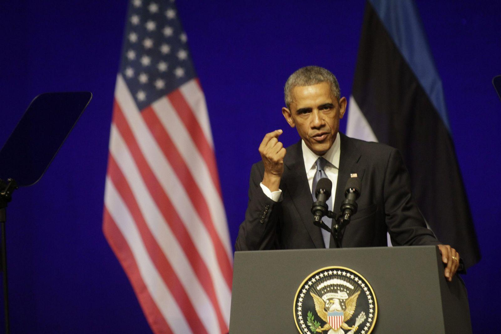 Barack Obama / Estland