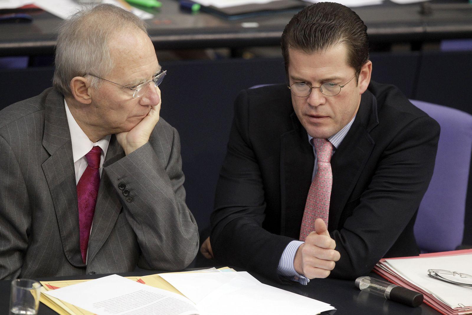 Schäuble / Guttenberg
