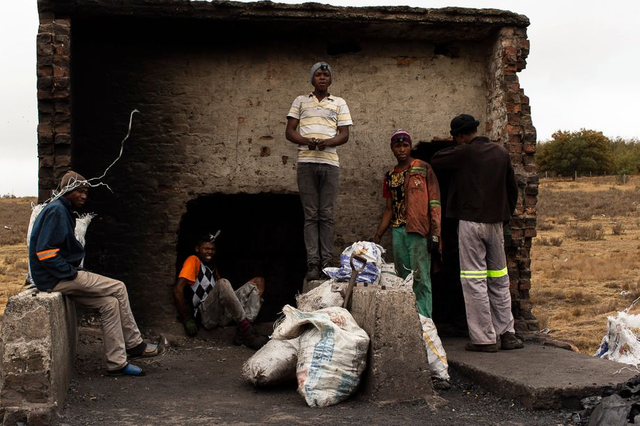 Miners are between 16 and 35 years old. For them, coal is often the only way to earn money.
