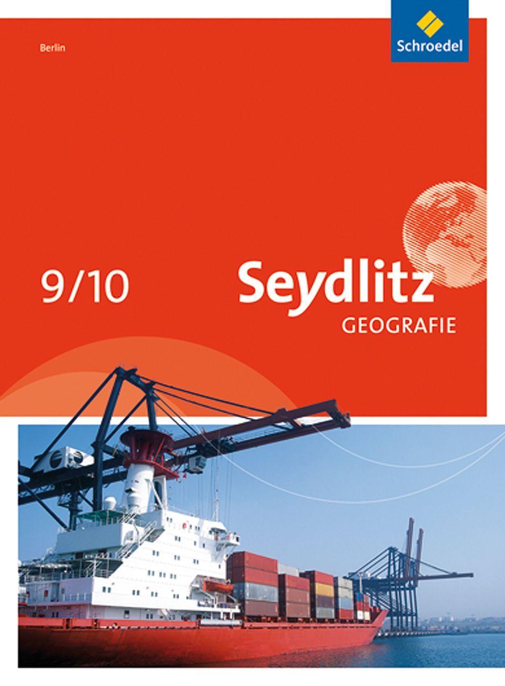 EINMALIGE VERWENDUNG Cover/ Seydlitz Geografie/ 9/10