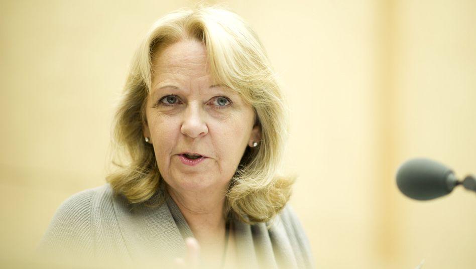 NRW-Ministerpräsidentin Kraft im Bundesrat (Archivbild): Dämpfer für CDU-Kandidat Röttgen