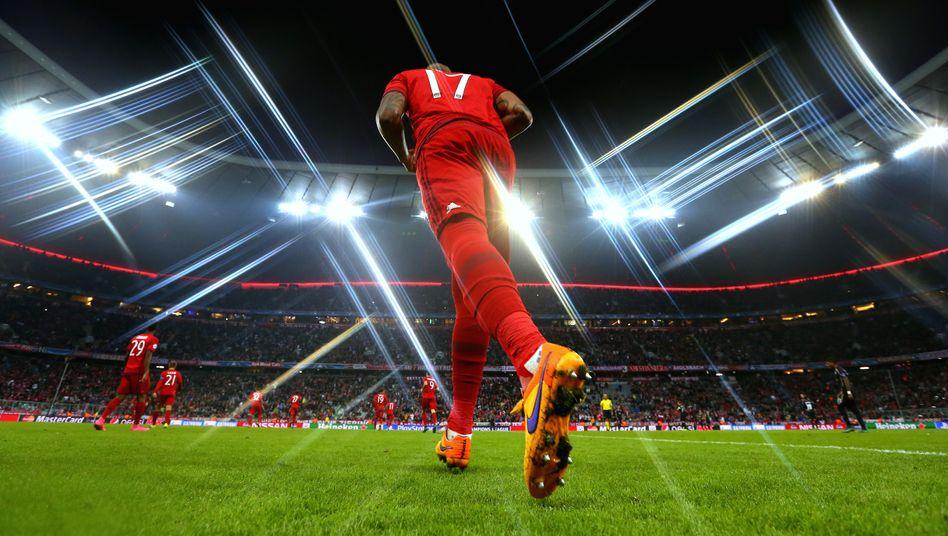 Jérôme Boateng vom FC Bayern in der Champions League (Archivbild)