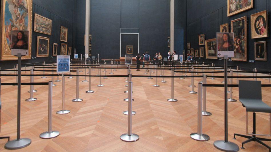 Voll wird es im Louvre in diesem Sommer wohl nicht