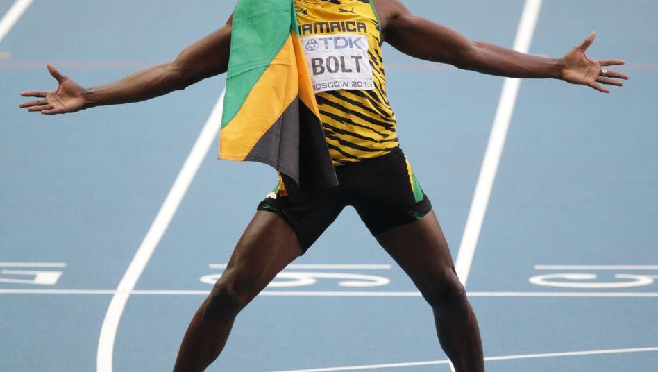 Sprint-Superstar Bolt: Drittes Gold in Moskau, achtes WM-Gold insgesamt