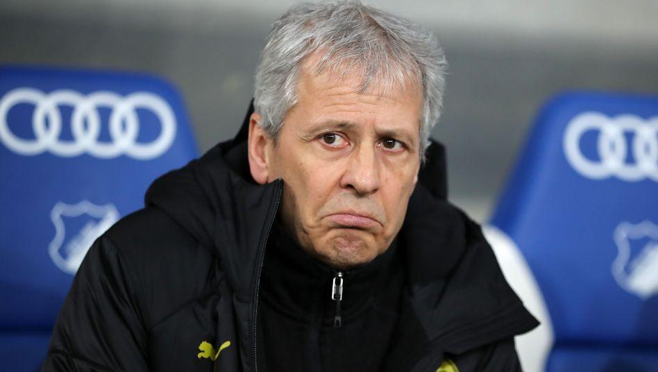 BVB-Trainer Lucien Favre: Kummer, Sehnsucht, Resignation oder Erleichterung?