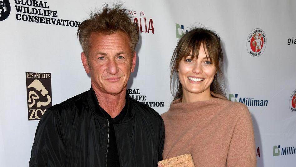 Jetzt verheiratet: Sean Penn und Leila George (Archivbild)