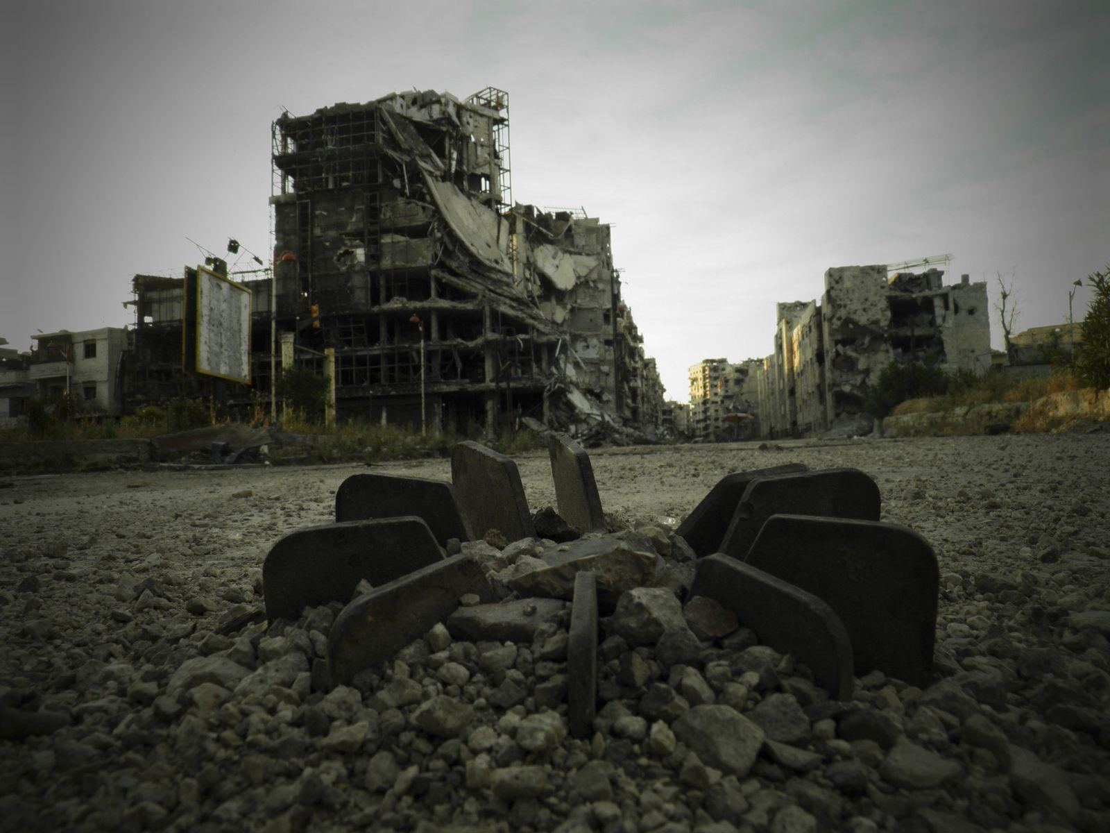 Syrien / zerstörte Häuser