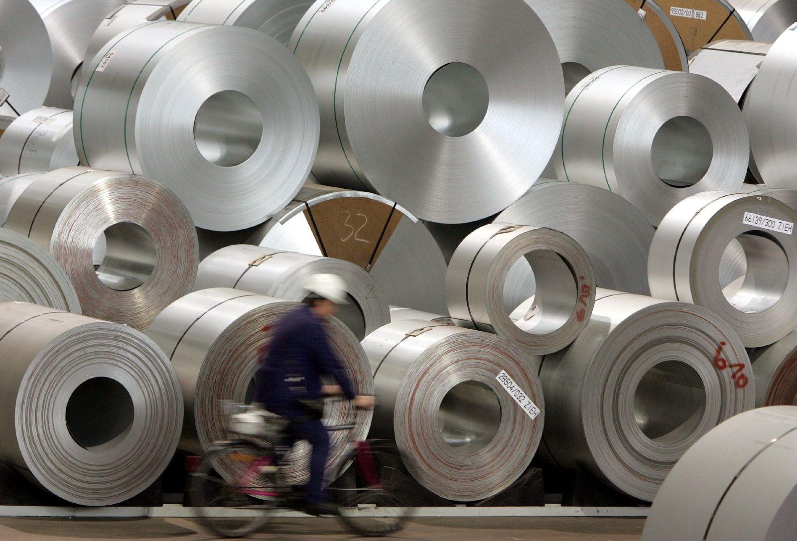 Industrie klagt über hohe Stahlpreise