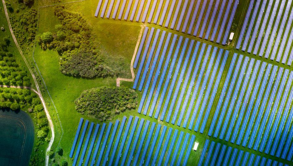Fotovoltaik-Freiflächenanlage