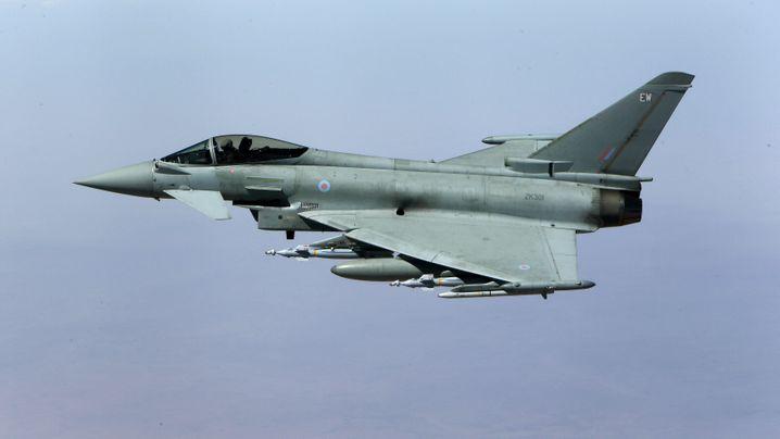 Rüstungsexporte: Streit um Bauteile für Kampfjets