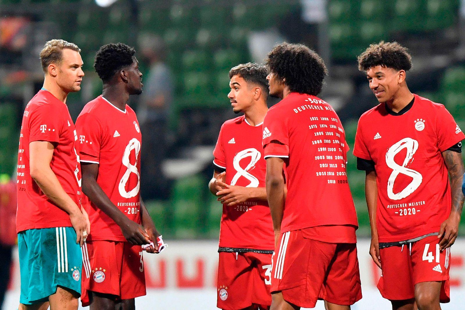 Meisterfeier Bayern MГјnchen 2021