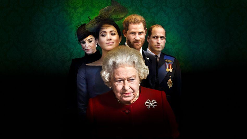 Harry, Meghan und das Drama der Queen: Die Sippe der Verfluchten