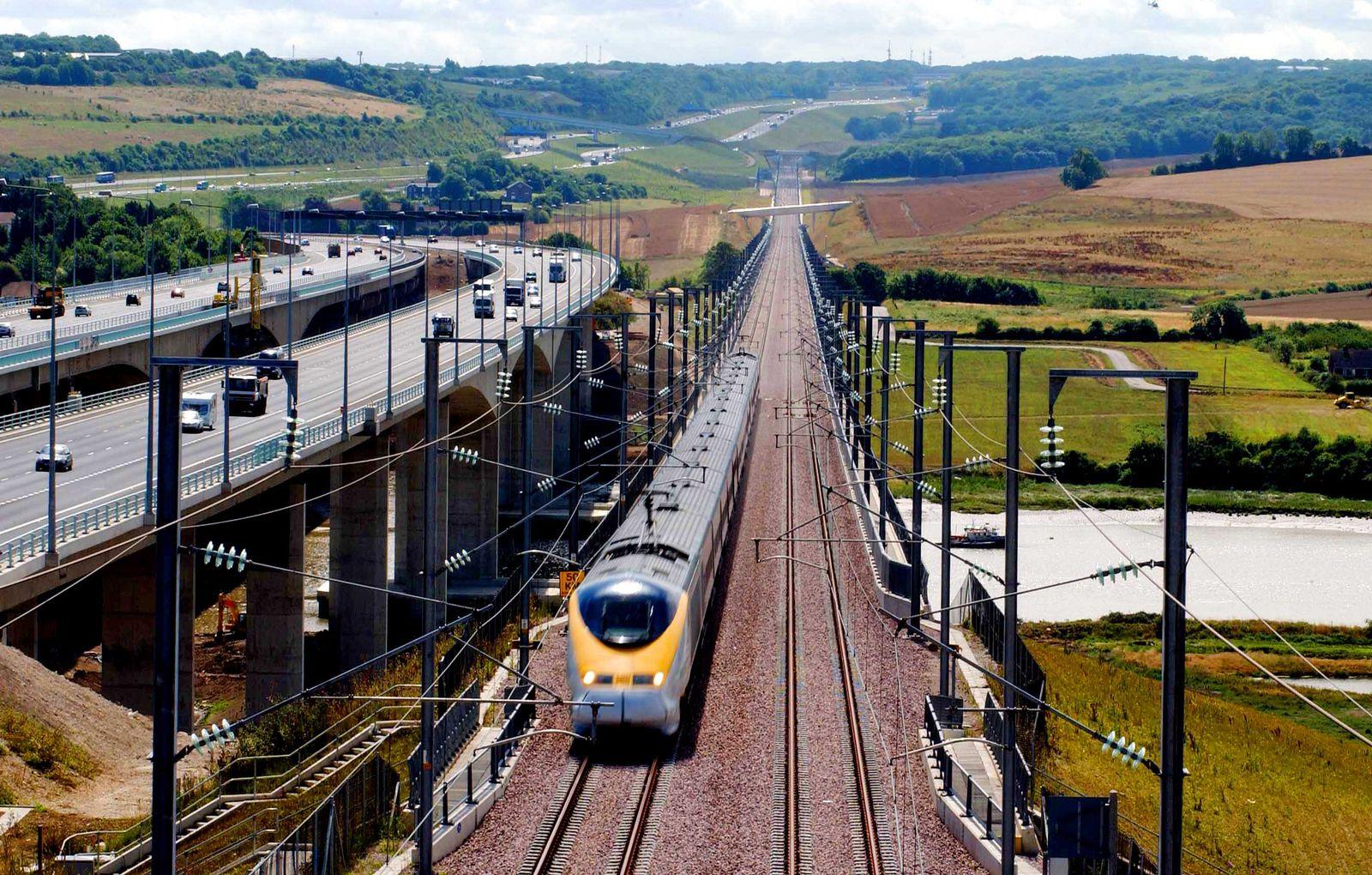 High speed rail London