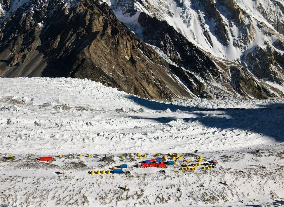 Nepalese team makes first successful winter ascent of K2, Zzz, Pakistan - 10 Jan 2021