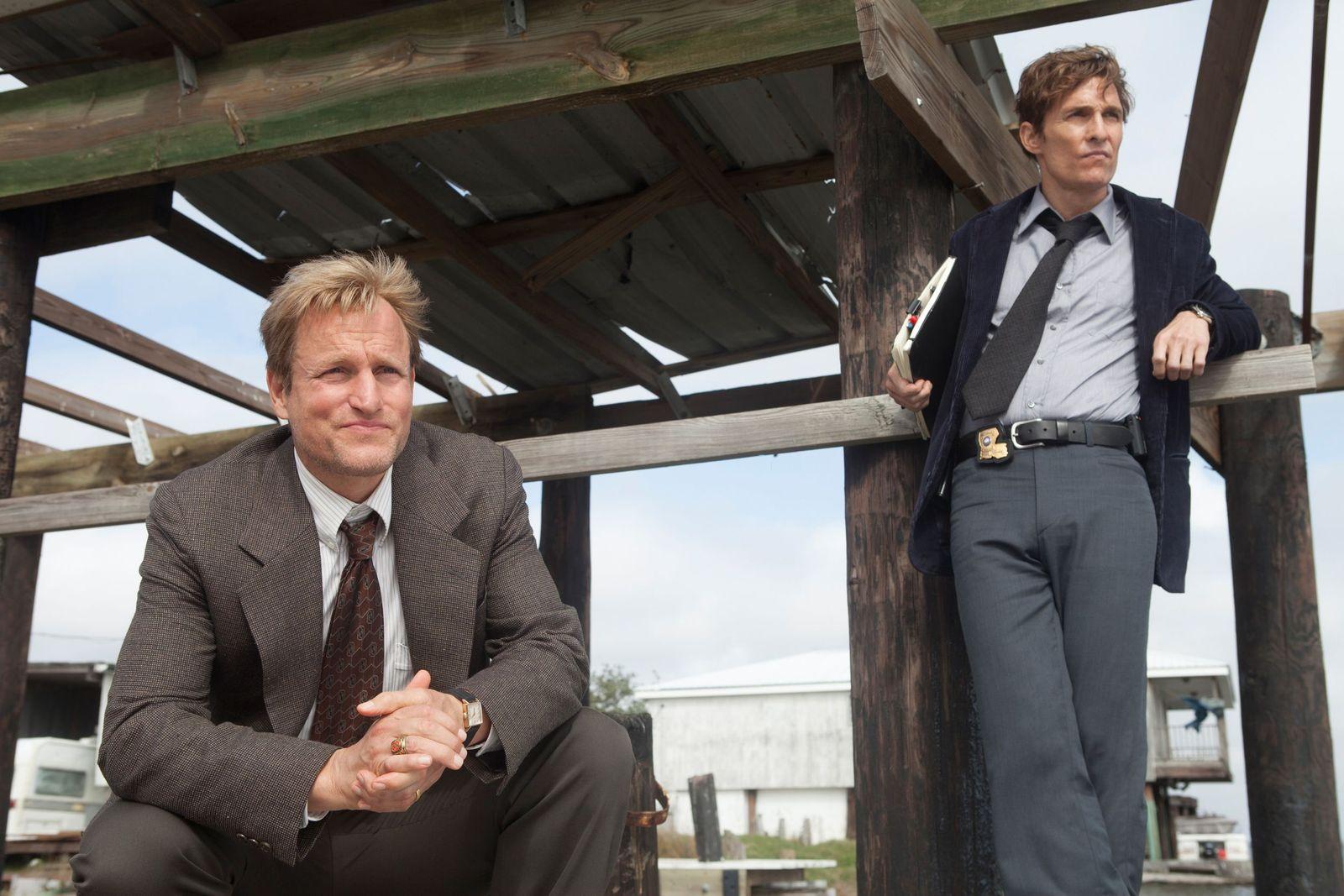 EINMALIGE VERWENDUNG Dallas Buyers Club/ Matthew McConaughey/ True Detective