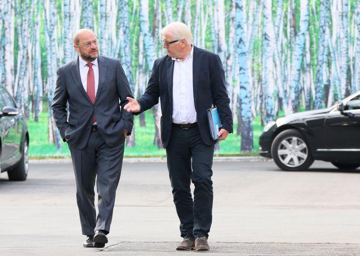 Schulz, Steinmeier (Archivbild von 2014)