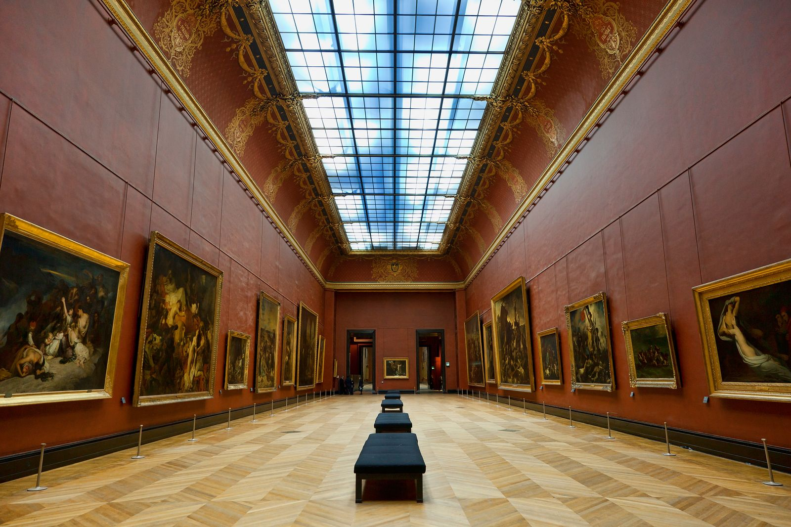 Salle Mollien in the Musee du Louvre