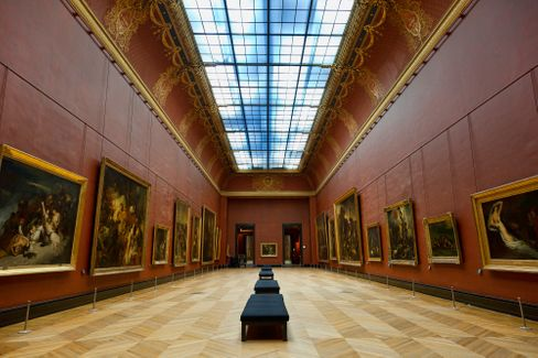 Historischer Saal im Louvre: Den Anschluss ans 21. Jahrhundert nicht verpassen