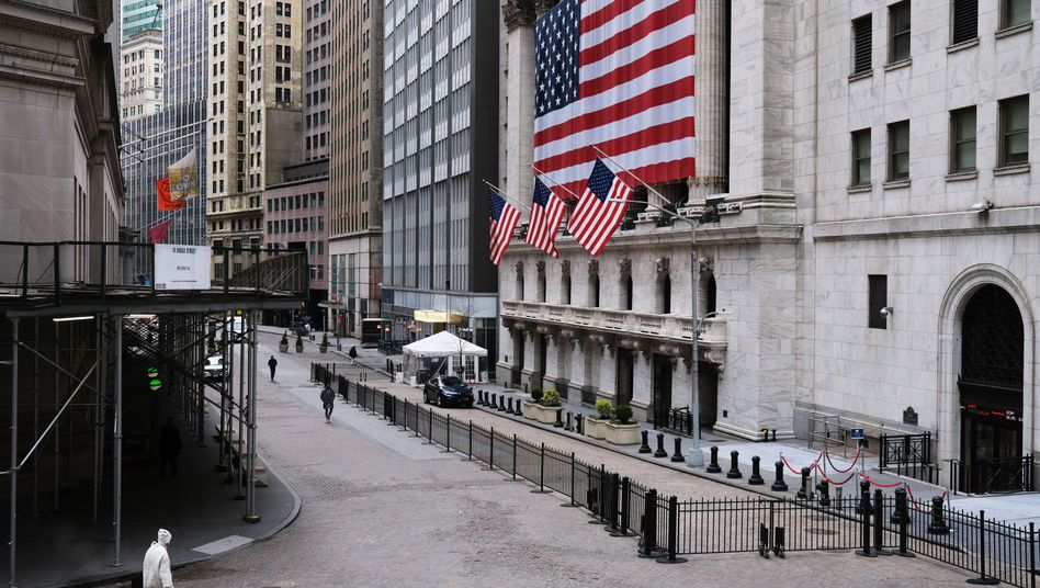 Börse in New York: Der Parketthandel ist wegen der Corona-Pandemie geschlossen
