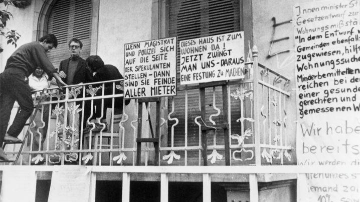 Der Frankfurter Häuserkampf - wie alles begann