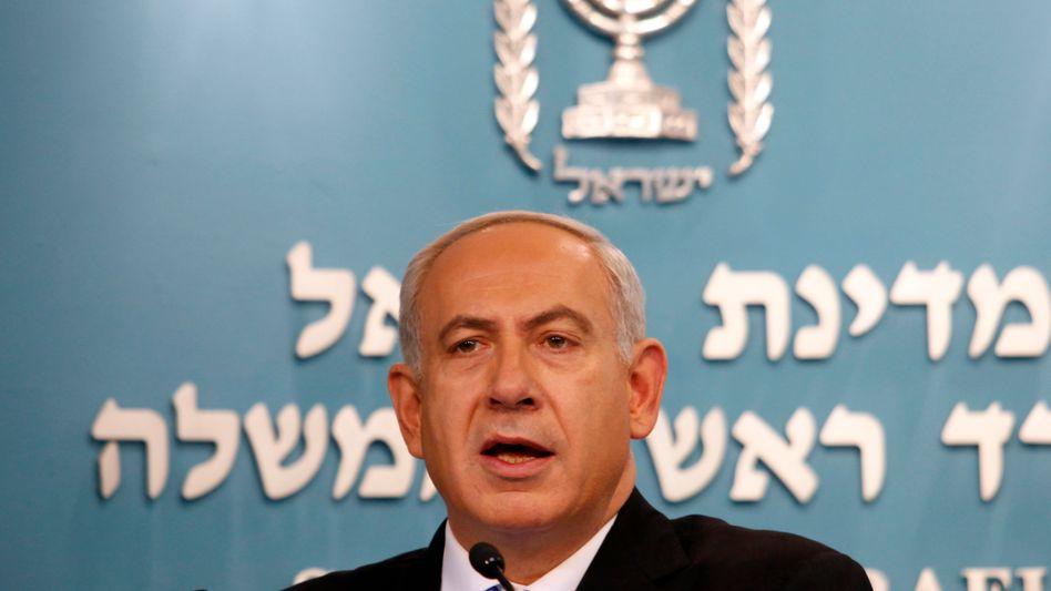 Israels Regierungschef Netanjahu: Gespräche mit Bundeskanzlerin Merkel in Berlin
