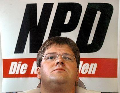 NPD-Funktionär Holger Apfel: Deutschlands prominentester Rechter fährt E-Klasse - für weniger als vier Euro pro Tag