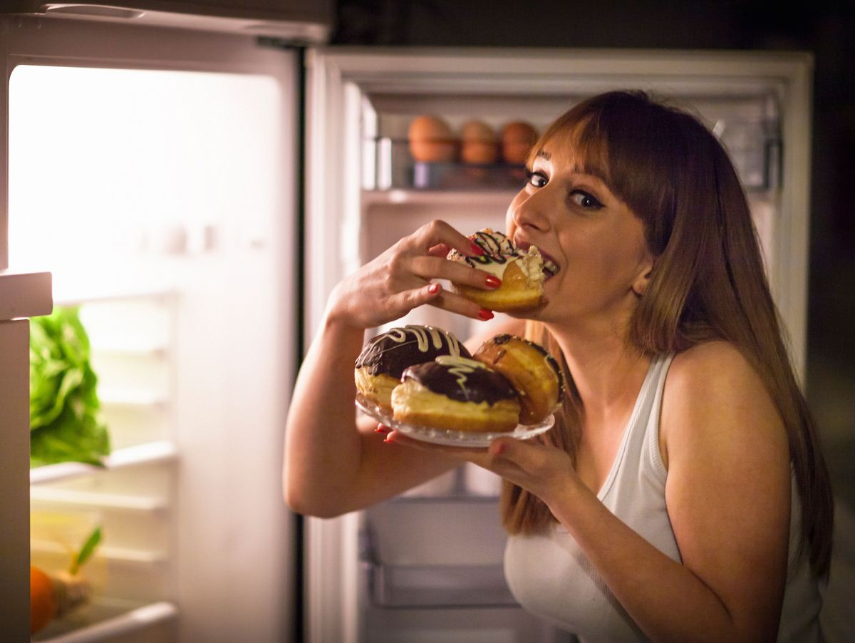 Nehmen Sie einmal pro Woche an Fast Food ab
