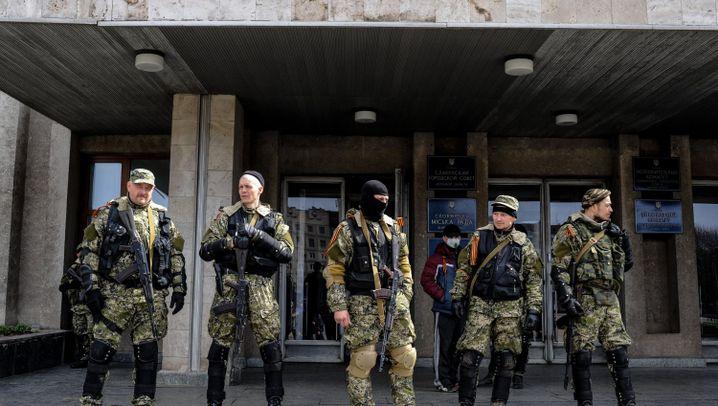 Kampf um die Ostukraine: Die Sprache der Waffen