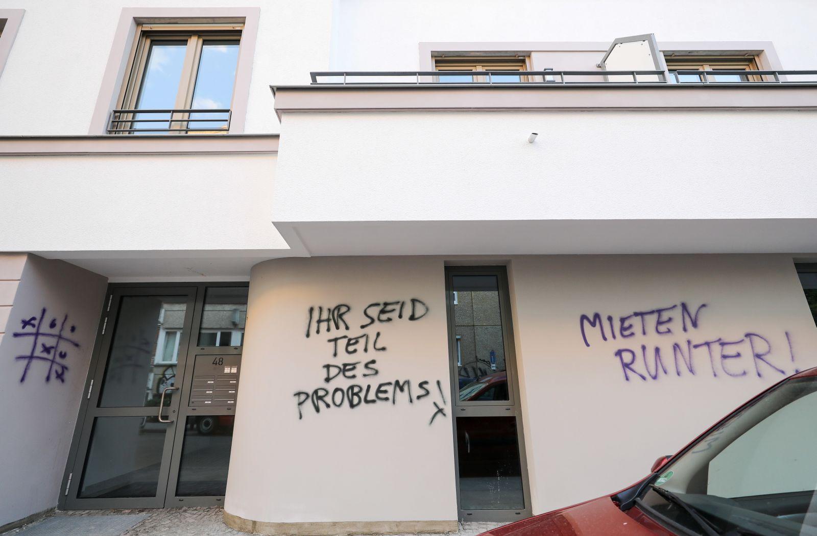 Leipzig Protest Wohnraum