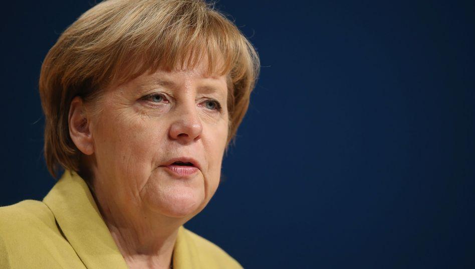 CDU-Chefin Merkel macht Kompromisse - für 1,50 Euro netto mehr pro Monat