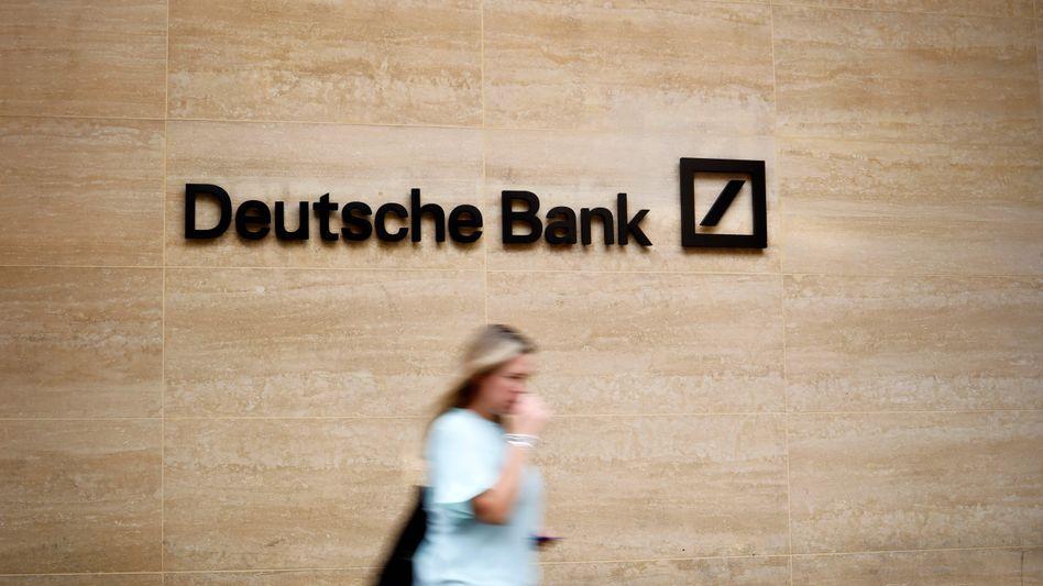 Filiale der Deutschen Bank in London
