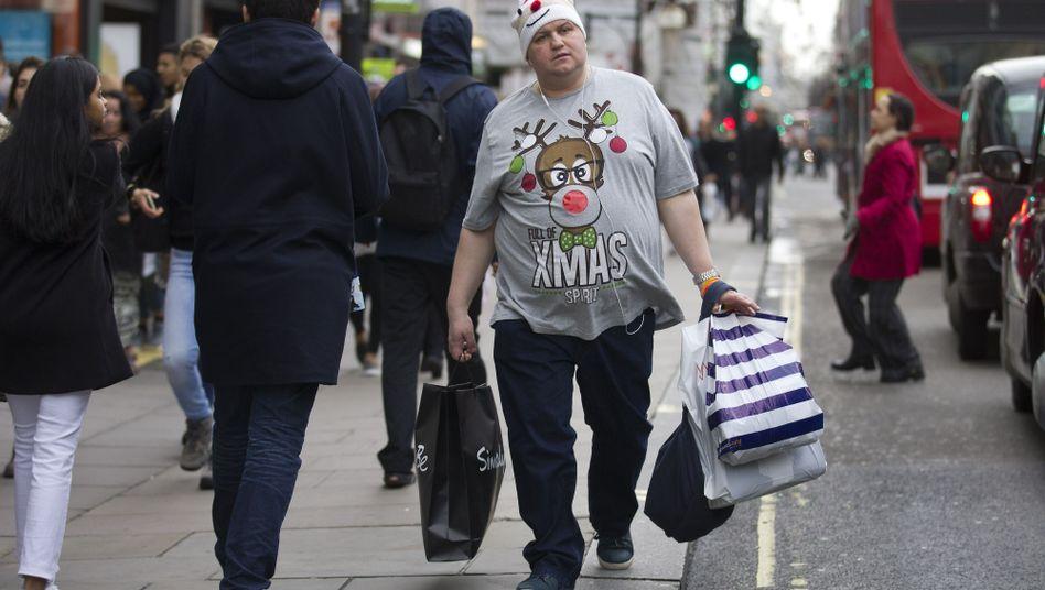 Weihnachten ist lustig: Christmas Jumpers sind bei den Briten verbreitet