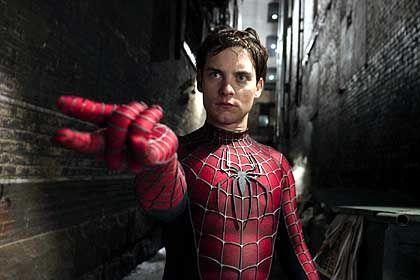 """Tobey Maguire als """"Spider-Man"""": Der Anzug kneift im Schritt"""