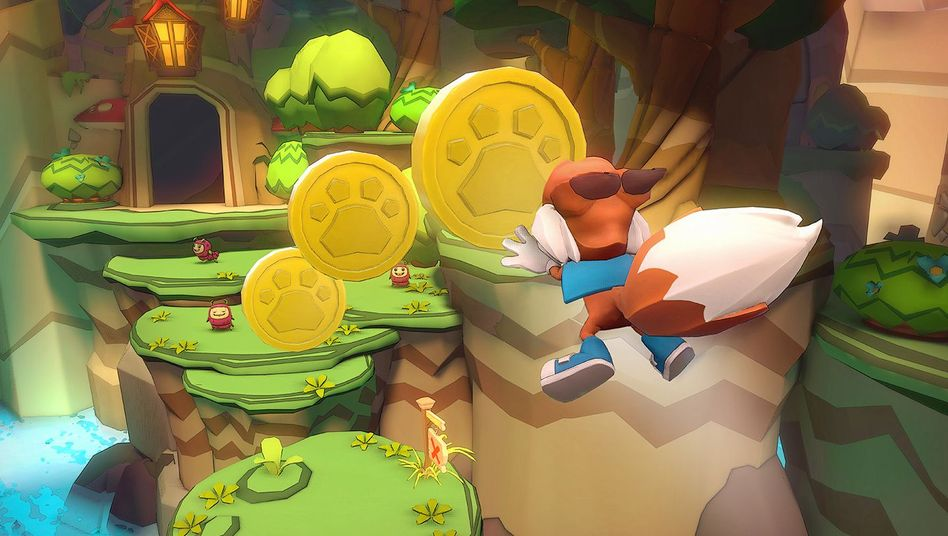 """Oculus-Rift-Spiel """"Lucky's Tale"""""""