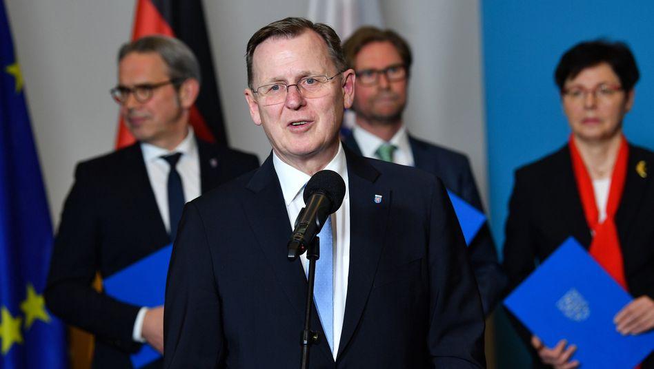 Turingia: Eletto Ramelow come Presidente.