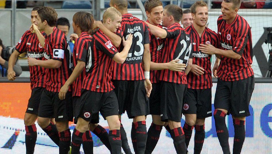 Eintracht-Spieler: Gemeinsam erfolgreich