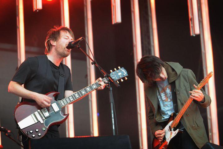 Radiohead bei Konzert: Plötzlich gab es etwas kostenlos