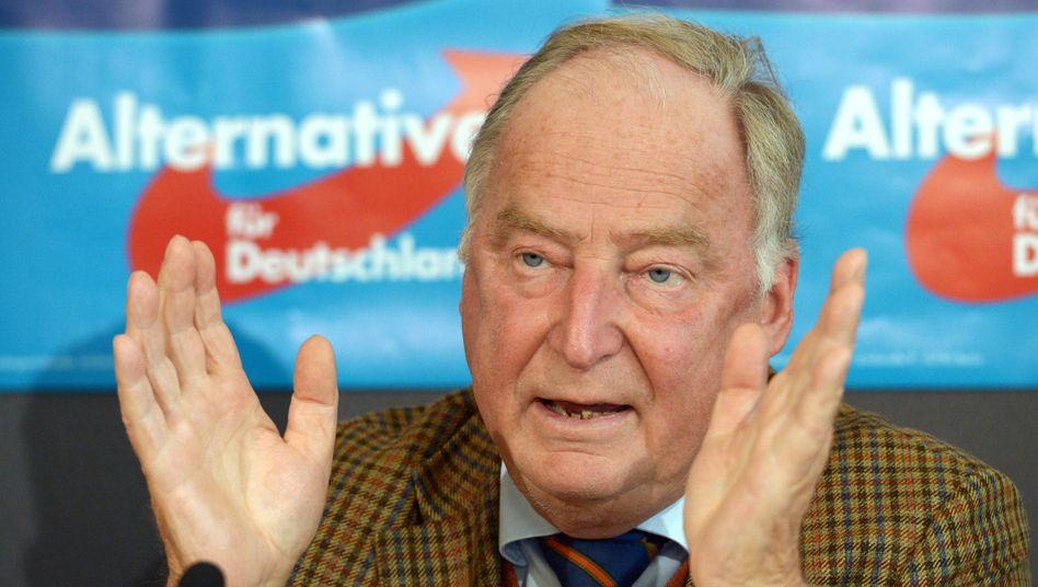 """Brandenburgs AfD-Fraktionschef Gauland: """"Er will alles kontrollieren"""""""