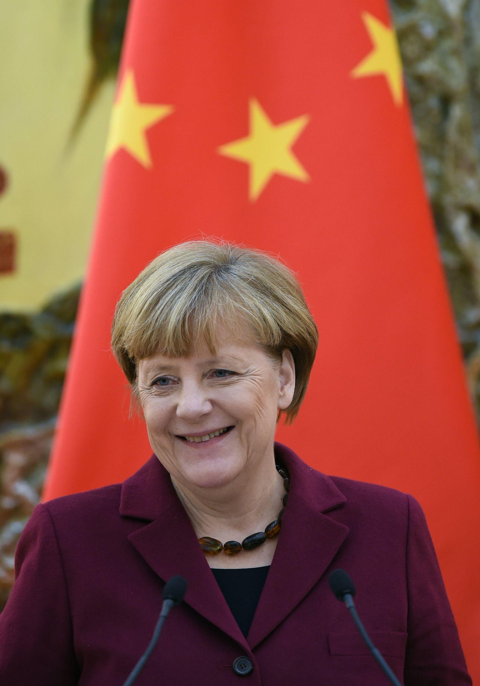 Angela Merkel / China / Peking