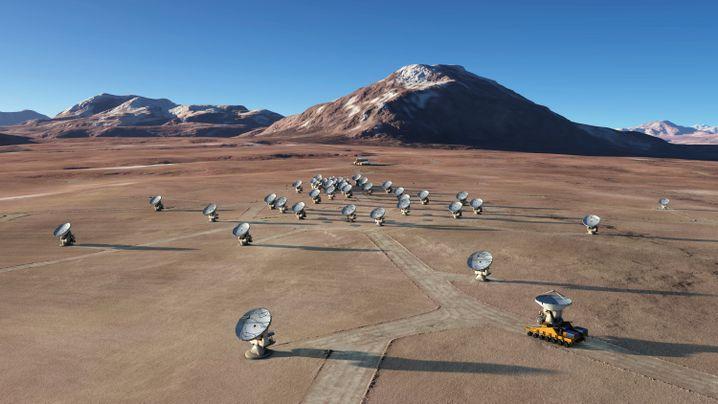 """""""Alma""""-Observatorium in chilenischen Anden"""