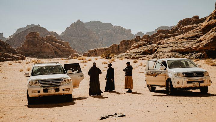 Nefud-Wüste in Saudi-Arabien: Die große Freiheit