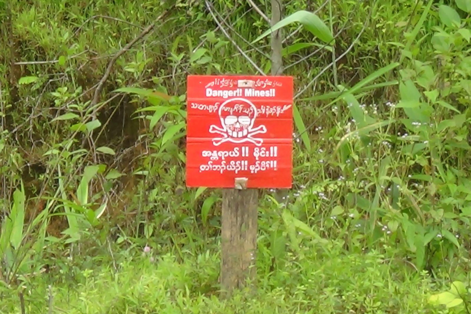 Myanmar/ Landminen