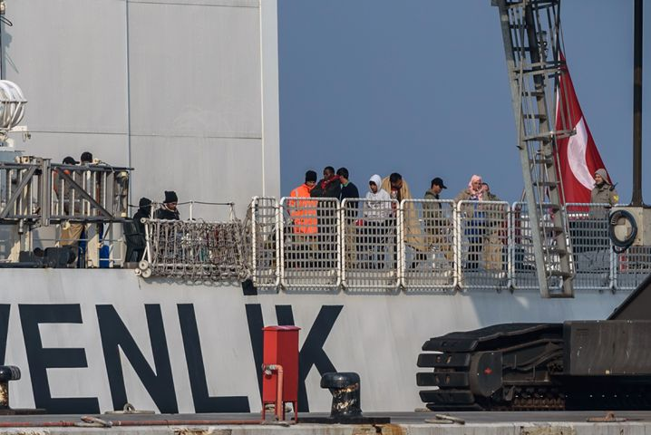 Increased patrols by the Turkish coast guard has ensured a dramatic reduction in the number of refugees making their way to European shores.