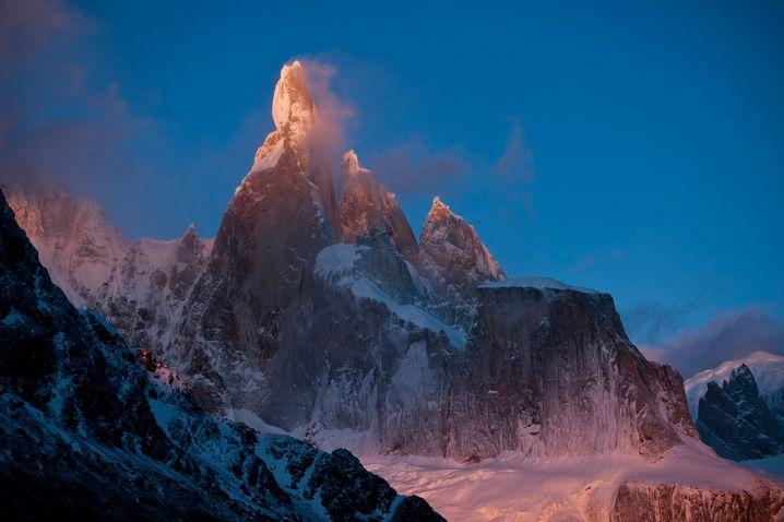 Cerro Torre (3128 Meter) in Patagonien