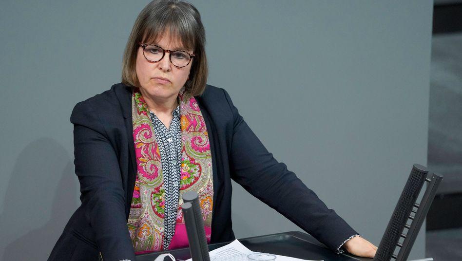 Linken-Abgeordnete Heike Hänsel