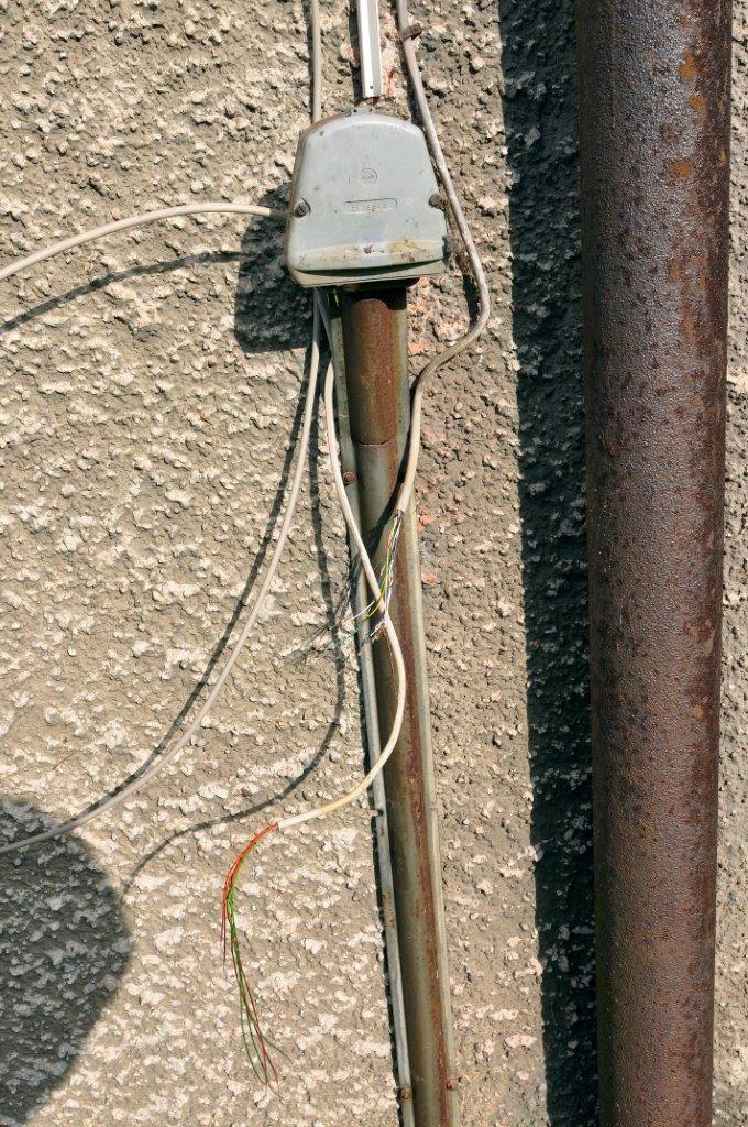 Brandmeldeanlage: Kabel gekappt