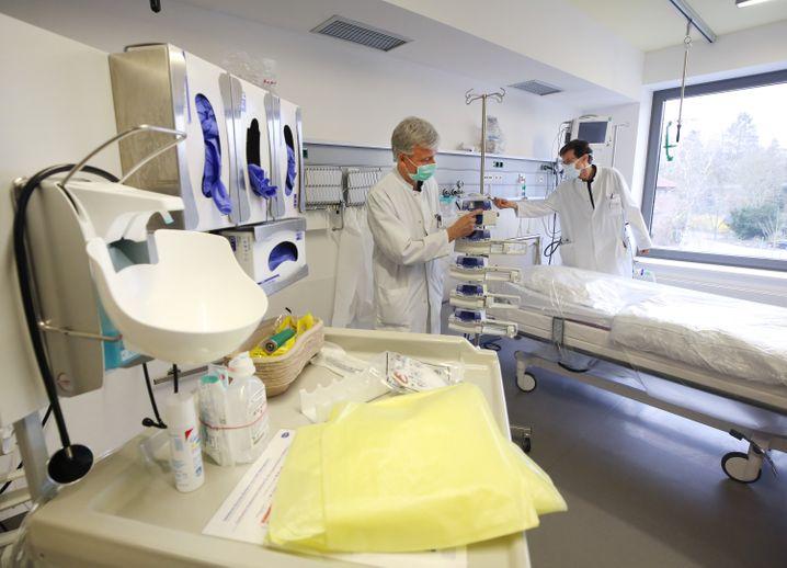 Krankenhaus in Viersen, NRW