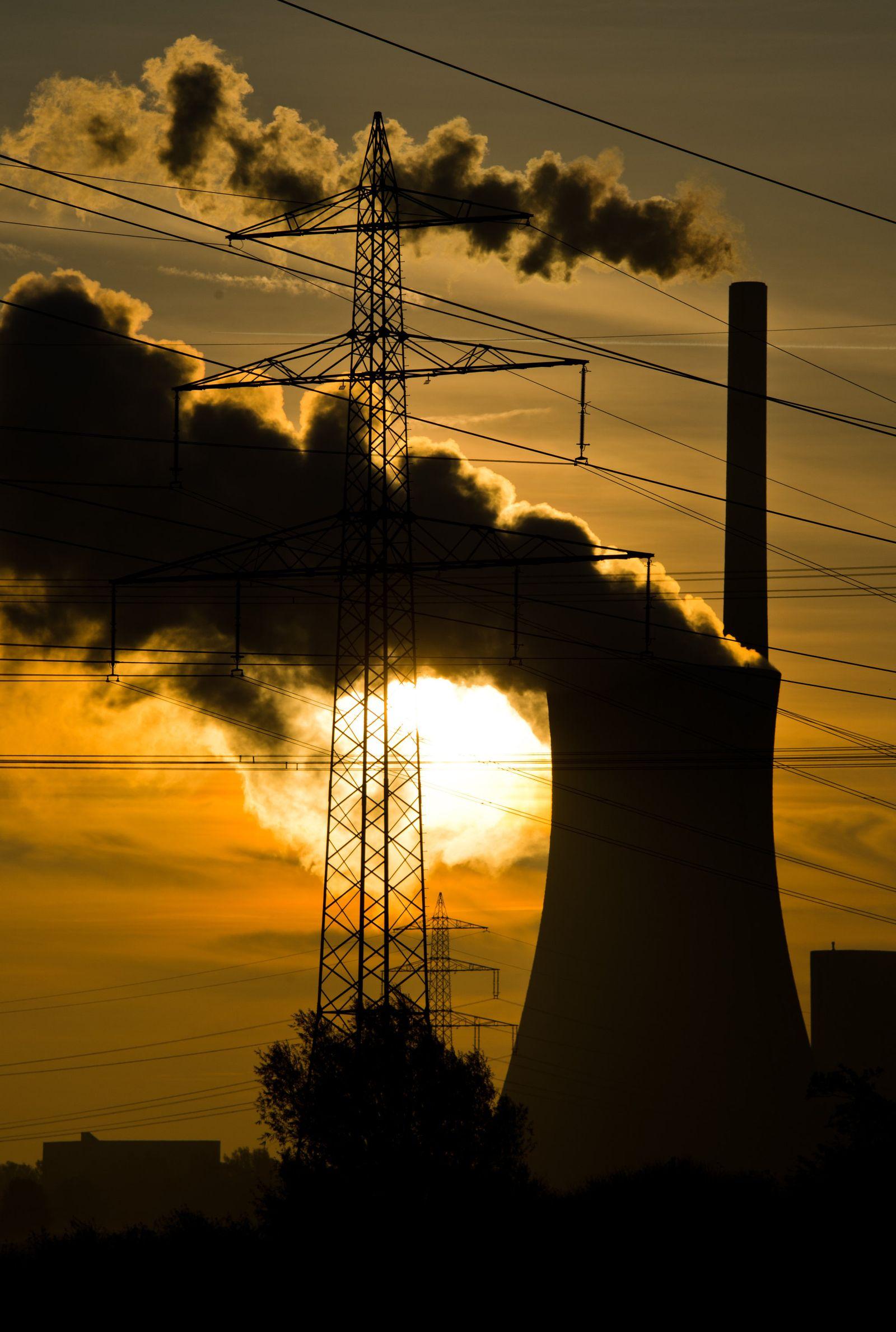 Energie / Strom / Kraftwerk Mehrum