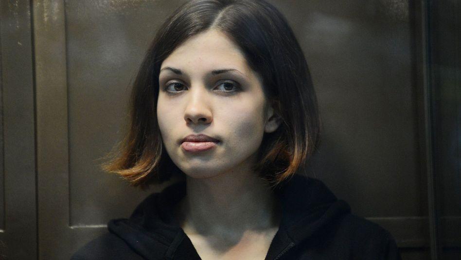 Pussy-Riot-Mitglied Tolokonnikowa: Nicht beanstandungswürdig