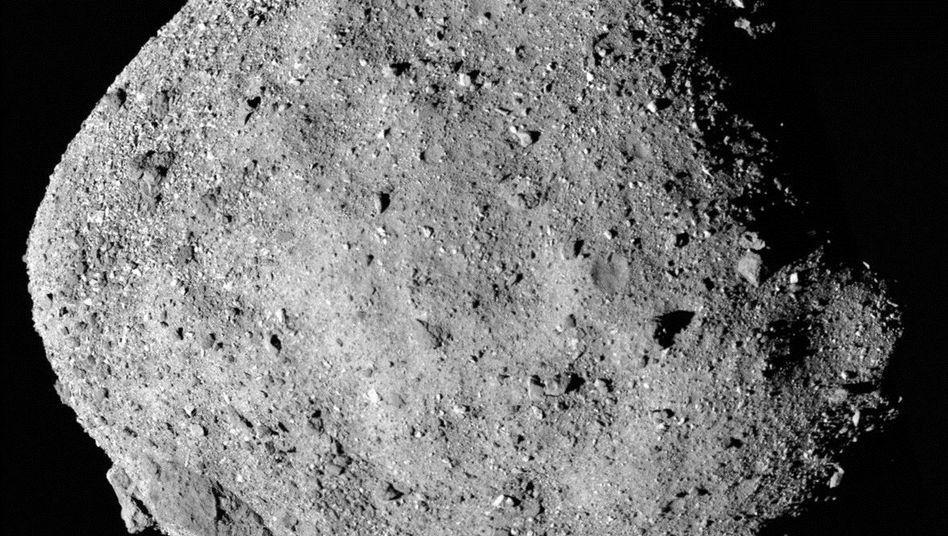 Asteroid Bennu aus 24 Kilometern Entfernung